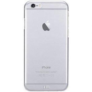 Just Mobile Justmobile Tenc Crystal Clear Takakansi Matkapuhelimelle Iphone 6/6s Kristallin Kirkas