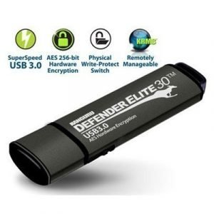 Kanguru Defender Elite30 Secure 64gb Usb 3.0