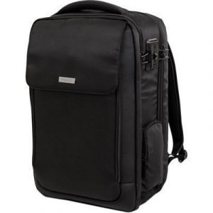 Kensington Securetrek Overnight Backpack Musta 17tuuma
