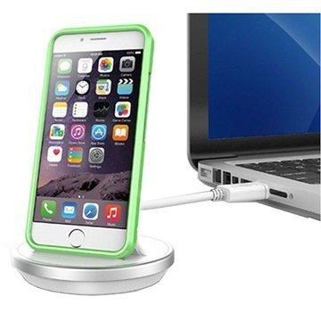 KiDiGI Työpöytälaturi iPhone 6 / 6s iPhone 6s Plus Valkoinen