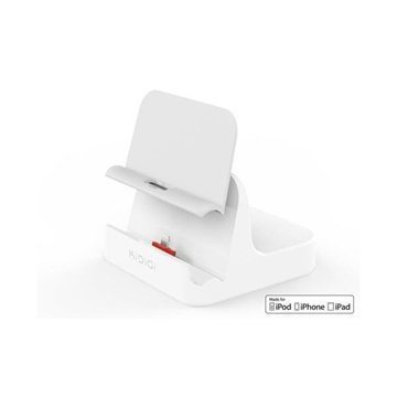 KiDiGi Cover-Mate Pöytälaturi iPhone 5 iPad Air iPad Mini Valkoinen