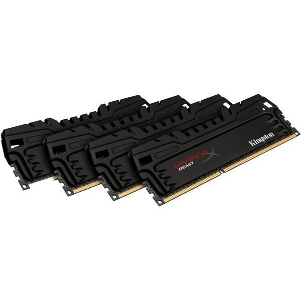 Kingston 16GB 1866MHz DDR3 CL10 DIMM (Kit of 4) Beast Series