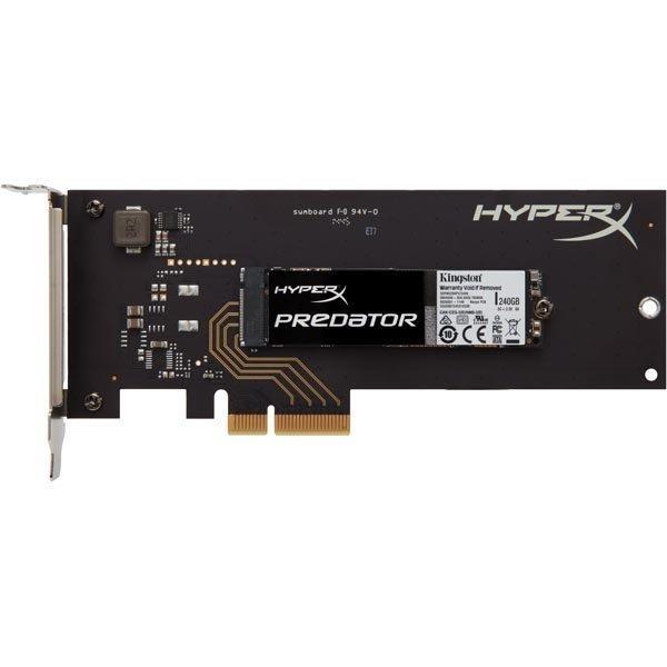 Kingston 240GB SSD HyperX Predator PCIe Gen2 x4 (HHHL)