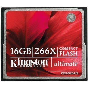 Kingston CF/16GB-U2 Ultimate 266X Compact Flash Muistikortti 16Gt