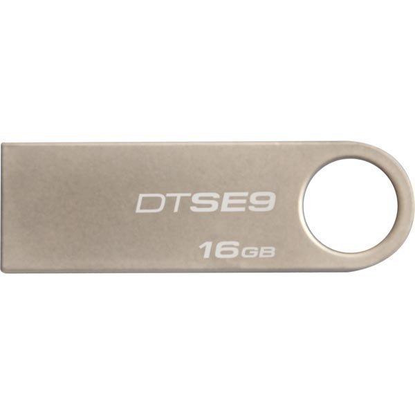 Kingston DTSE9H/16GB USB 2.0 muisti shampanjan värinen