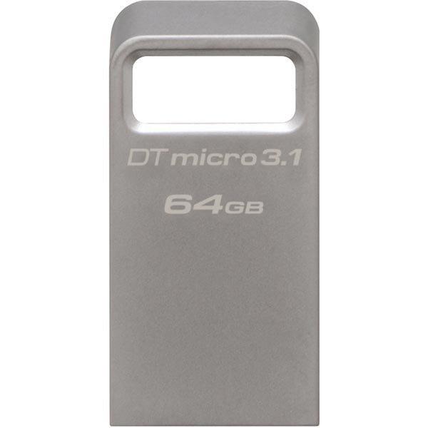 Kingston DataTraveler Micro 3.1 - USB 3.1 muisti 64GB Gen1 100MBs