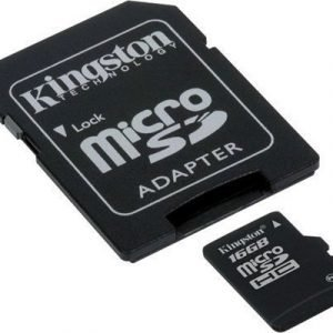 Kingston Flash-muistikortti Microsdhc 16gb