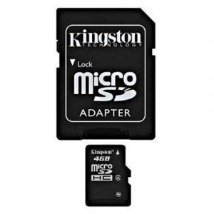 Kingston Flash-muistikortti Microsdhc 8gb