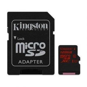 Kingston Flash-muistikortti Microsdxc 128gb
