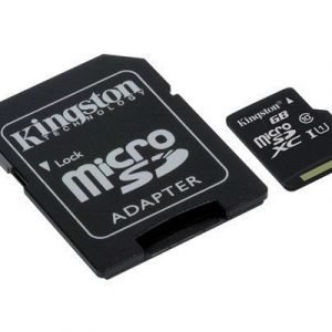 Kingston Flash-muistikortti Microsdxc 64gb