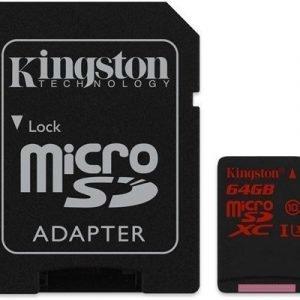 Kingston Flash-muistikortti Microsdxc 64gb