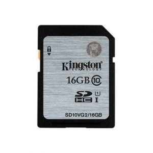 Kingston Flash-muistikortti Sdhc 16gb