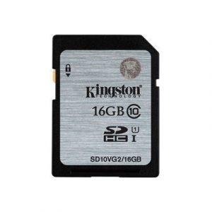 Kingston Flash-muistikortti Sdhc 16gb