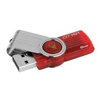 Kingston Generation 2 Data Traveler 101 USB Stick Red 8GB