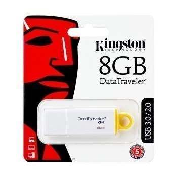 Kingston Generation 4 Data Traveler USB Tikku 8 GB