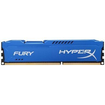 Kingston HX313C9F/4 HyperX Fury DDR3-1333 RAM Muisti 4Gt Sininen