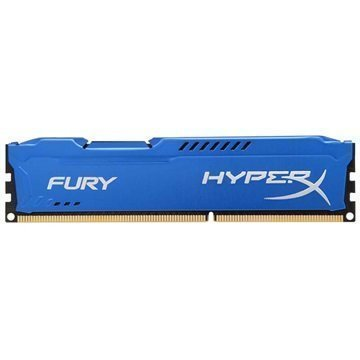 Kingston HX316C10F/4 HyperX Fury DDR3 RAM Muisti 4Gt Sininen