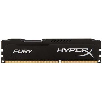 Kingston HX318C10FB/4 HyperX Fury DDR3-1866 RAM Muisti 4Gt Musta