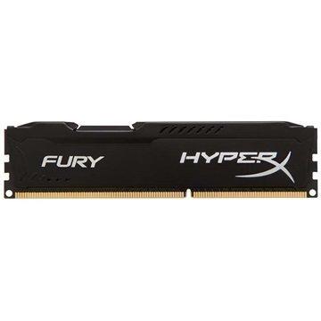 Kingston HX318C10FB/4 HyperX Fury DDR3-1866 RAM Muisti 4Gt Musta