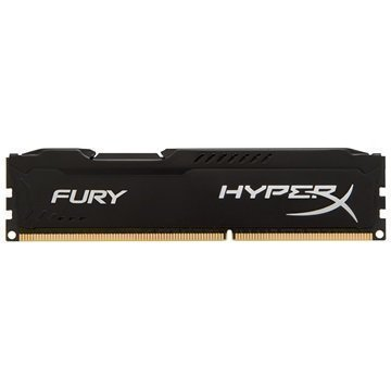 Kingston HX318C10FB/8 HyperX Fury DDR3-1866 RAM Muisti 8Gt Musta