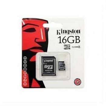 Kingston Micro SDHC Card (TransFlash) 16GB