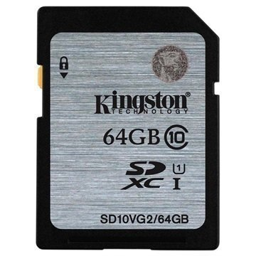 Kingston SD10VG2/64GB SDXC Muistikortti 64Gt