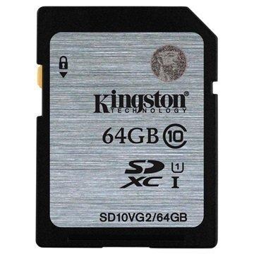 Kingston SD10VG2/64GB SDXC Muistikortti 64Gt