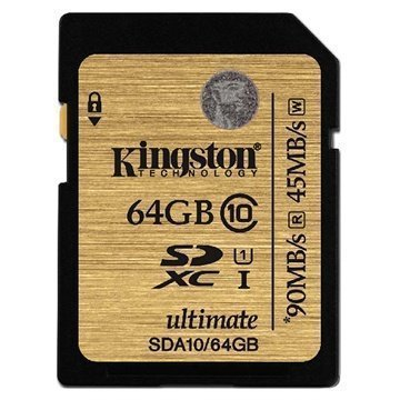 Kingston SDA10/64GB SDXC Muistikortti 64Gt
