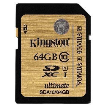 Kingston SDA10/64GB SDXC Muistikortti 64Gt