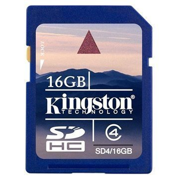 Kingston SDHC Card 16GB Class 4