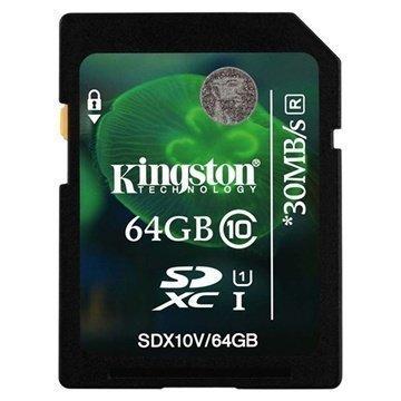 Kingston SDX10V/64GB SDXC Muistikortti 64Gt