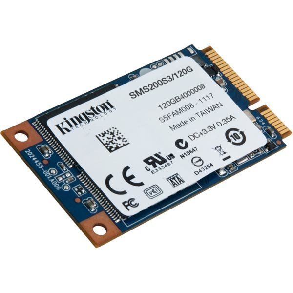 Kingston SMS200S3/120G SSDNow mS200 mSATA SATA 6Gb/s 120GB TRIM