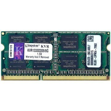 Kingston ValueRAM KVR1333D3S9/8G 1333MHz SO-DIMM DDR3 RAM Muisti 8GB