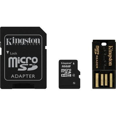 Kingston muistikortti microSDHC 16GB micro Secure Digital High-Capacity