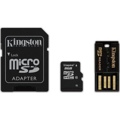 Kingston muistikortti microSDHC 8GB micro Secure Digital High-Capacity