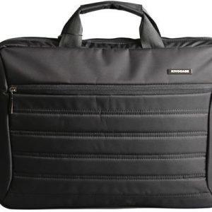 Kivocase Laptop Case 15.6tuuma Jacquard Nylon Musta