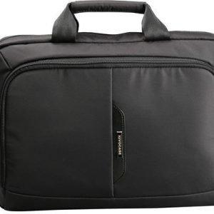 Kivocase Pro Slim Business Case 14tuuma Jacquard Nylon Musta