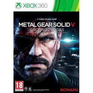 Konami Metal Gear Solid: Ground Zeroes X360