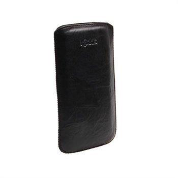 Konkis Nahkakotelo Samsung N7000 Galaxy Note Pesty Musta
