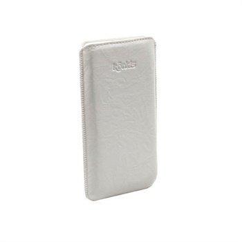 Konkis Nahkakotelo Samsung N7000 Galaxy Note Pesty Valkoinen