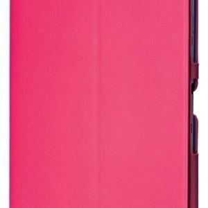 Kotelo PU-nahkaa Galaxy Tab 3 10.1 -tableteille pinkki