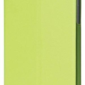 Kotelo PU-nahkaa Galaxy tab 3 7.0 -tableteille vihreä