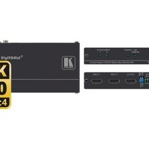 Kramer Vs-211h2 Automatic 4k Uhd Hdmi Standby Switcher