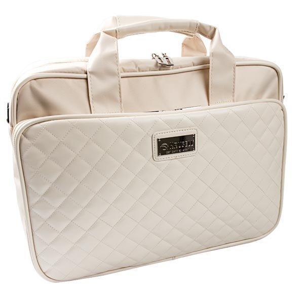 """Krusell Avenyn laptop bag tekonahkaa max. 16 valkoinen"""""""