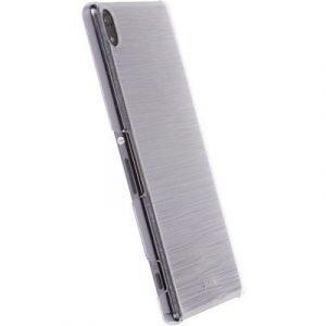 Krusell Boden Cover Transparent/white Sony Xperia Xa Ultra Sony Xperia Xa Ultra Läpikuultava Musta