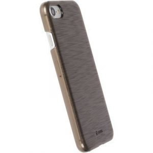 Krusell Boden Takakansi Matkapuhelimelle Iphone 7 Läpikuultava Musta