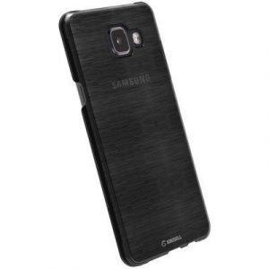 Krusell Boden Takakansi Matkapuhelimelle Samsung Galaxy A3 (2016) Läpikuultava Musta