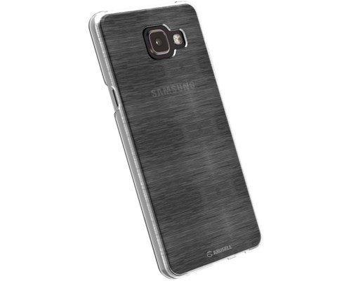 Krusell Boden Takakansi Matkapuhelimelle Samsung Galaxy A3 (2016) Läpikuultava Valkoinen