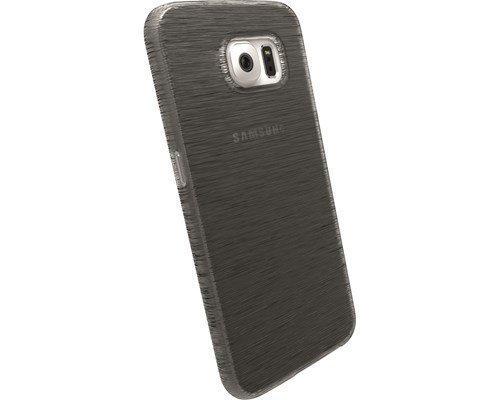 Krusell Boden Takakansi Matkapuhelimelle Samsung Galaxy S6 Läpikuultava Musta