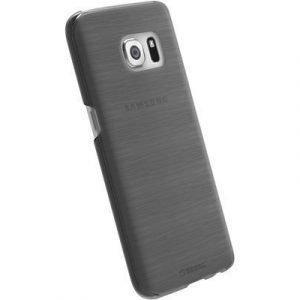 Krusell Boden Takakansi Matkapuhelimelle Samsung Galaxy S7 Läpikuultava Musta